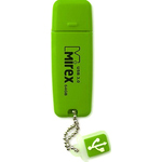 4GB USB Drive Mirex ELF GREEN (13600-FMUGRE04)