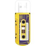 16GB USB Drive Verbatim Mini Cassette Edition 49399 Yellow