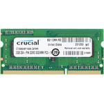 Оперативная память Crucial 2Gb DDR3L SO-DIMM PC3-12800 1600MHz Crucial (CT25664BF160B) OEM
