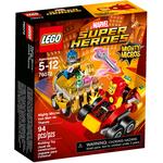 Конструктор LEGO Mighty Micros: Железный человек против Таноса 76072