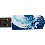 8GB USB Drive Verbatim Store n Go Mini GRAFFITI EDITION 98162 синий, рисунок