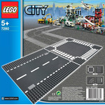 Конструктор LEGO 7280 Straight & Crossroads