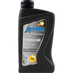 Трансмиссионное масло Alpine Syngear 75W-90 1л