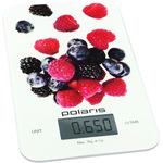 Кухонные весы Polaris PKS0740DG Berries белый