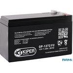 Аккумулятор Kiper GP-1272 12V/7.2Ah
