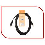 Кабель HDMI-HDMI TV-COM 1m ver1.4, (CG200F-1M)