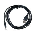 Кабель DC jack 3.5 мм - USB A 1,8м Gembird CC-USB-AMP35-6