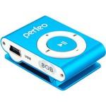 MP3 плеер Perfeo VI-M001-8GB Music Clip Titanium Blue