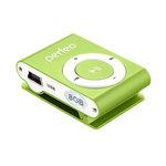 MP3 плеер Perfeo VI-M001-8GB Music Clip Titanium Green