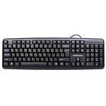 Клавиатура Nakatomi KN-02P Black