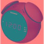 Радиобудильник Telefunken TF-1570 зеленый