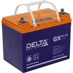 Аккумулятор Delta GX 12-33 (12V, 33Ah)