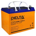 Аккумулятор Delta DTM 1233L (12V, 33Ah)