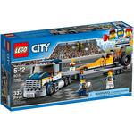 Конструктор LEGO Грузовик для перевозки драгстера 60151