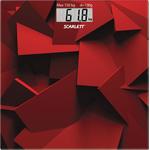 Весы напольные Scarlett SC-BS33E086 красный