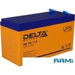 Аккумулятор Delta HR12-7.2 (12V, 7.2Ah)