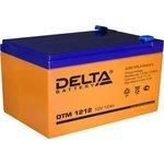 Аккумулятор Delta DTM 1212 (12V, 12Ah)