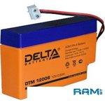 Аккумулятор Delta DTM 12008 (12V, 0.8Ah)