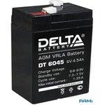 Аккумулятор Delta DT 6045 (6V, 4.5Ah)