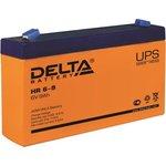 Аккумулятор Delta HR 6-9 (6V, 8.8Ah)