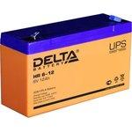 Аккумулятор Delta HR 6-12 (6V, 12Ah)