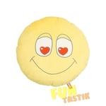 Мягкая игрушка Подушка смайлик влюблённый PVV1
