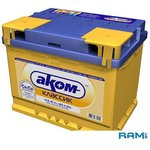 Автомобильный аккумулятор AKOM Реактор 6СТ-75 Евро