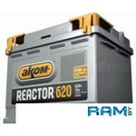 Автомобильный аккумулятор AKOM Реактор 6СТ-62 Евро