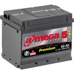 Автомобильный аккумулятор A-mega Premium 6СТ-60-А3 R (60 А/ч)