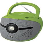 Аудиомагнитола BBK BX195U Green/Grеу