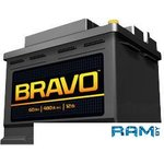 Автомобильный аккумулятор BRAVO 6СТ-60 Евро / 560010009 60 А/ч