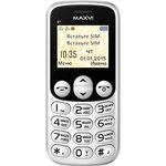 Мобильный телефон Maxvi B1 White