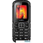 Мобильный телефон teXet TM-504R цвет черный-красный