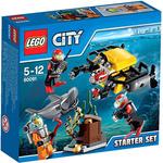Конструктор LEGO 60091 Deep Sea Starter Set