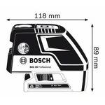 Лазерный нивелир Bosch GCL 25 (0601066B03)
