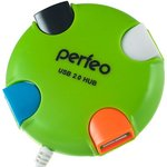 USB-хаб Perfeo PF-VI-H020 (зеленый)