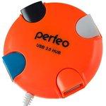 USB-хаб Perfeo PF-VI-H020 (оранжевый)