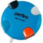USB-хаб Perfeo PF-VI-H020 (синий)