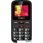 Мобильный телефон teXet TM-B217 цвет черный-красный