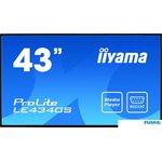 Информационная панель Iiyama ProLite LE4340S-B1