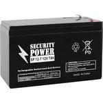 Аккумулятор Security Power SP 12-7