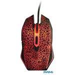 Мышь + коврик QUMO Dragon War Solaris M10