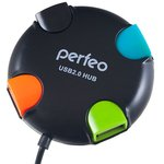 USB-хаб Perfeo PF-VI-H020 (черный)