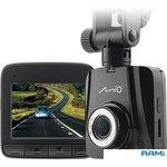 Видеорегистратор Mio MiVue C300 черный 1080x1920 1080p 100гр.