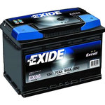Автомобильный аккумулятор Exide Excell EB456 (45 А/ч)