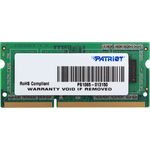 Оперативная память Patriot Signature Line 2GB DDR3 SO-DIMM PC3-12800 (PSD32G1600L81S)