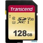 Карта памяти Transcend SDXC 500S 128GB