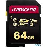 Карта памяти Transcend SDXC 700S 64GB