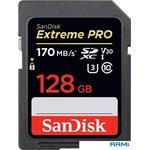 Карта памяти SanDisk Extreme PRO SDXC SDSDXXY-128G-GN4IN 128GB