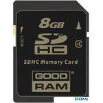 Карта памяти GOODRAM SDHC (Class 4) 8GB (SDC8GHC4GRR9)